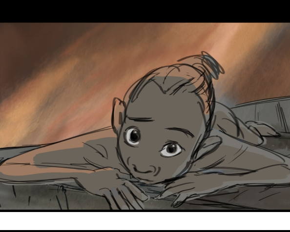 Story samples from the feature animated film, SPARK. Directed by Aaron Woodley.